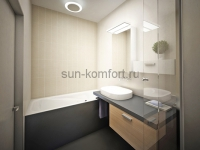Хай-тек дизайн ванной комнаты фотография