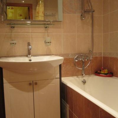 Ремонт ванной комнаты м. Царицыно фотографии