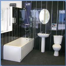 Ванная комната с панелей ПВХ